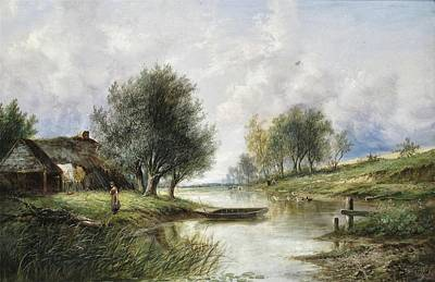 Country Scene Poster by Joseph Thors