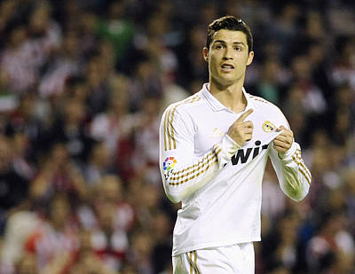 Cristiano Ronaldo 4 Poster by Rafa Rivas