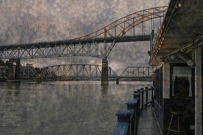 Cruising The Fraser Poster by Ed Hall