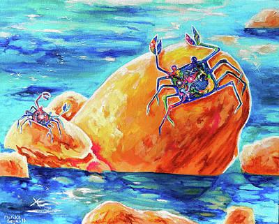 Crustacean Duo  Poster by Marika Segal