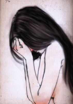 Sorrow Poster by H James Hoff