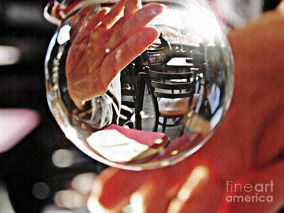 Crystal Ball Project 70 Poster by Sarah Loft