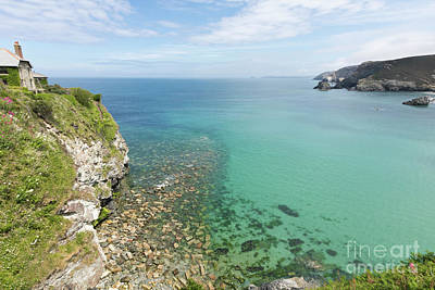 Crystal Clear Sea Poster by Terri Waters