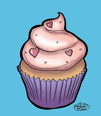 Cupcake Poster by Kylie Johnston