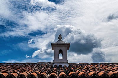 Cupula Antigua Guatemala 1 Poster by Totto Ponce