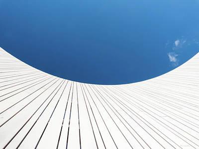 Curve Three Poster by Wim Lanclus