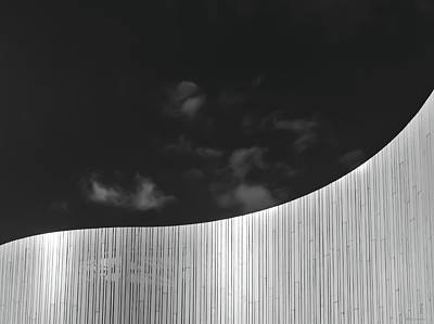 Curve Two Poster by Wim Lanclus