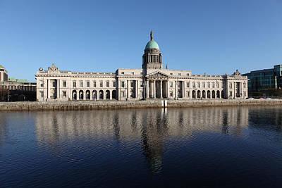 Custom House Dublin Ireland Poster by Joe Burns