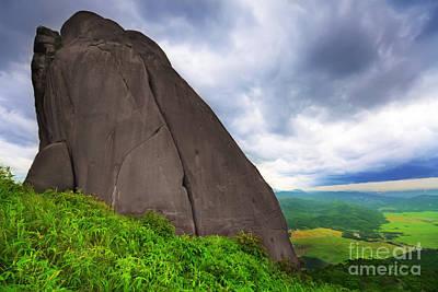 Da Bia Mountain Peak Poster by MotHaiBaPhoto Prints