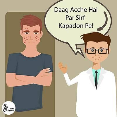 Daag Aache Hai Poster by Bhavyassh Agarwal