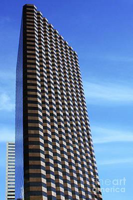 Dallas Skyscraper Poster by Joy Tudor
