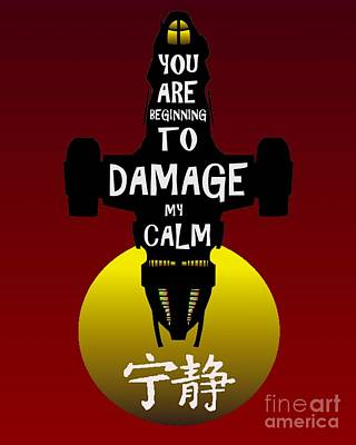 Damage Poster by Justin Moore