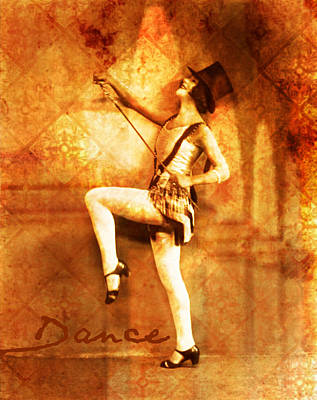 Dance Poster by Cathie Tyler