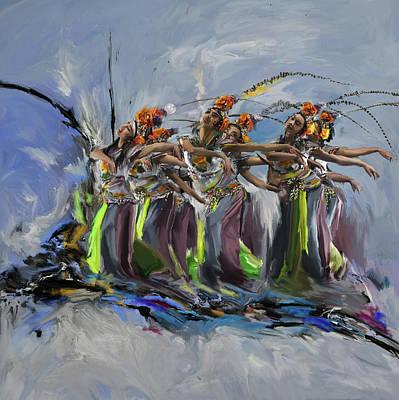 Dancers 264 2 Poster by Mawra Tahreem
