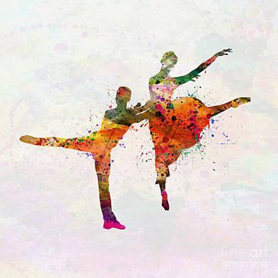Dancing Queen Poster by Mark Ashkenazi