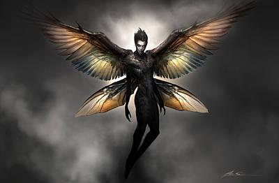 Dark Fairy Poster by Alex Ruiz
