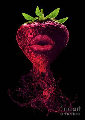 Dark Flavor Poster by Prar Kulasekara