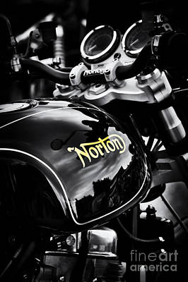 Dark Norton Poster by Tim Gainey