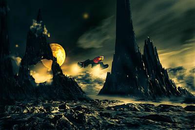 Dark Planet Poster by Bob Orsillo