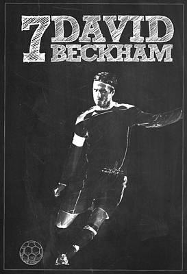 David Beckham Poster by Semih Yurdabak