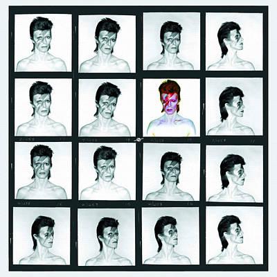 David Bowie Ziggy Stardust Painting 1 Poster by Tony Rubino