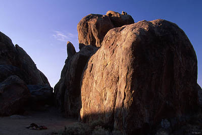 Days End - Alabama Hills Poster by Soli Deo Gloria Wilderness And Wildlife Photography