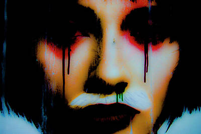 De Face II Poster by Grebo Gray