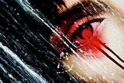 De Face Iv Poster by Grebo Gray
