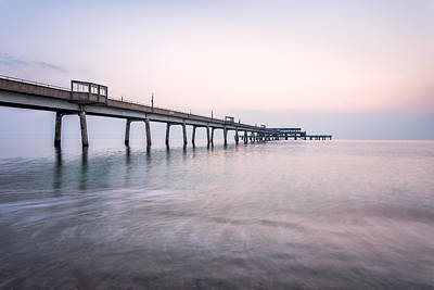 Deal Pier Sunrise Poster by Ian Hufton