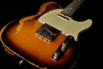 Dean Deleo - 1967 Fender Telecaster Poster by Lisa Johnson