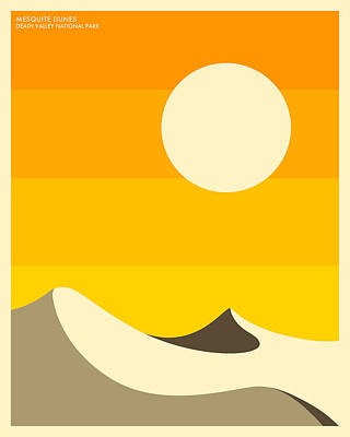 Death Valley National Park Poster by Jazzberry Blue