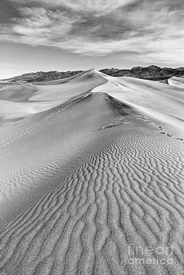 Deathvalley Ripples Poster by Jamie Pham