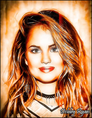 Debby Ryan - Forever Beauty Poster by Robert Radmore