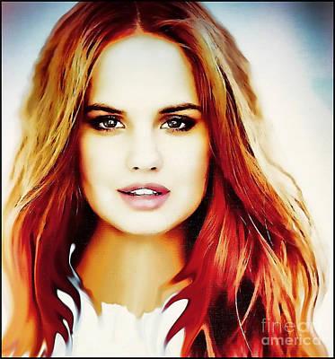 Debby Ryan - Simply Stunning Poster by Robert Radmore