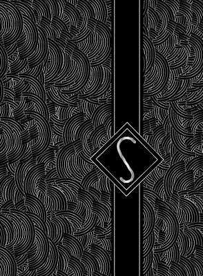 Deco Jazz Swing Monogram ...letter S Poster by Cecely Bloom