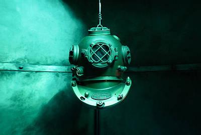 Deep Sea Diving Helmet Poster by Mountain Dreams