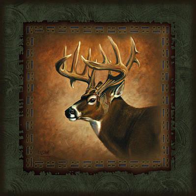 Deer Lodge Poster by JQ Licensing