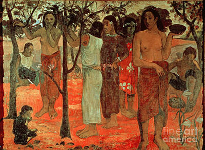 Delightful Days Poster by Paul Gauguin
