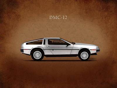 Delorean Dmc-12 Poster by Mark Rogan