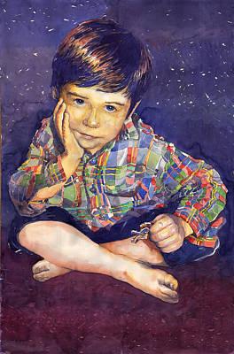 Denis 01 Poster by Yuriy  Shevchuk