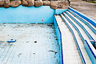 Derelict Pool Poster by Tom Gowanlock