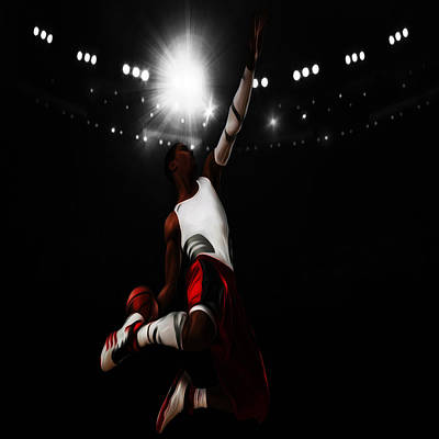 Derrick Rose I Rise Poster by Brian Reaves