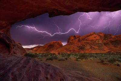 Desert Storm Poster by Darren White