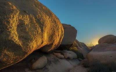 Desert Sunset Poster by Joseph Smith