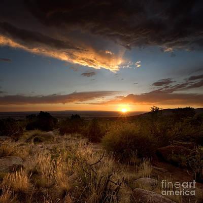 Desert Sunset Poster by Matt Tilghman