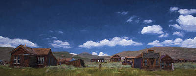 Deserted Bodie II Poster by Jon Glaser