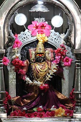 Devi Temple, Near Satara Poster by Jennifer Mazzucco