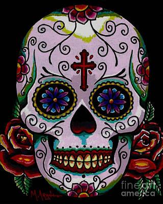 Dia De Los Muertos Poster by Maria Arango