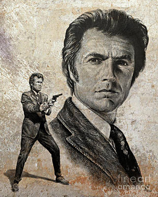 Dirty Harry  Make My Day Version Poster by Andrew Read