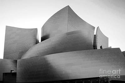 Disney Concert Hall California 24 Poster by Micah May